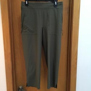 SALE Olive Green Cropped Pants